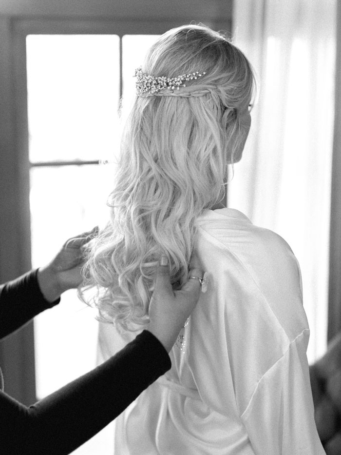 Biltmore hotel bride preparation