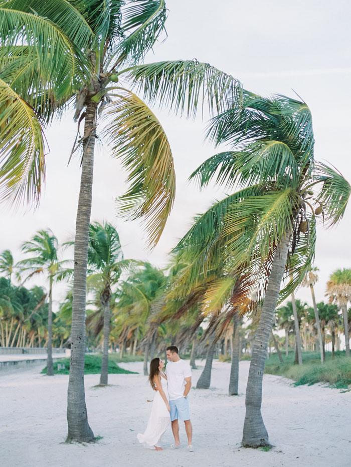 Miami Organic Engagement Fuji Pro 400H