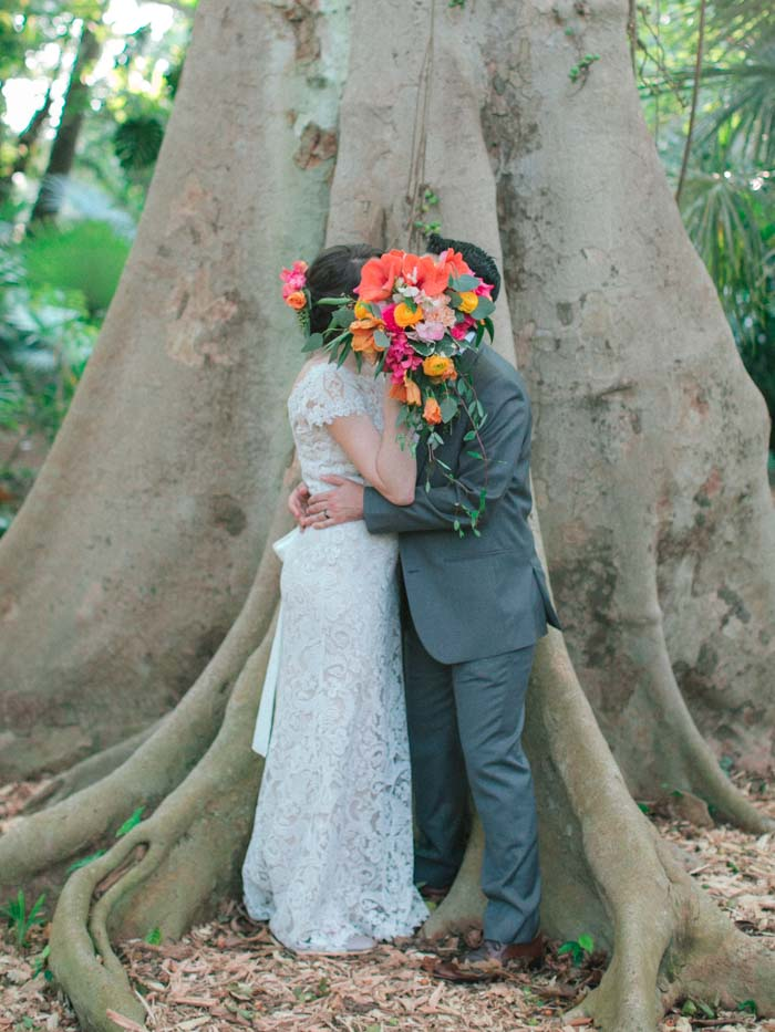 Miami Garden Wedding