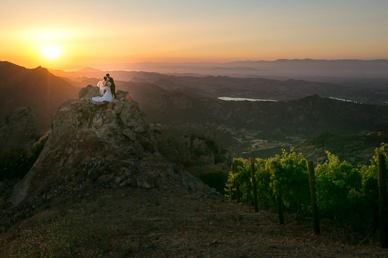 Malibu Rocky Oaks Vineyards Wedding