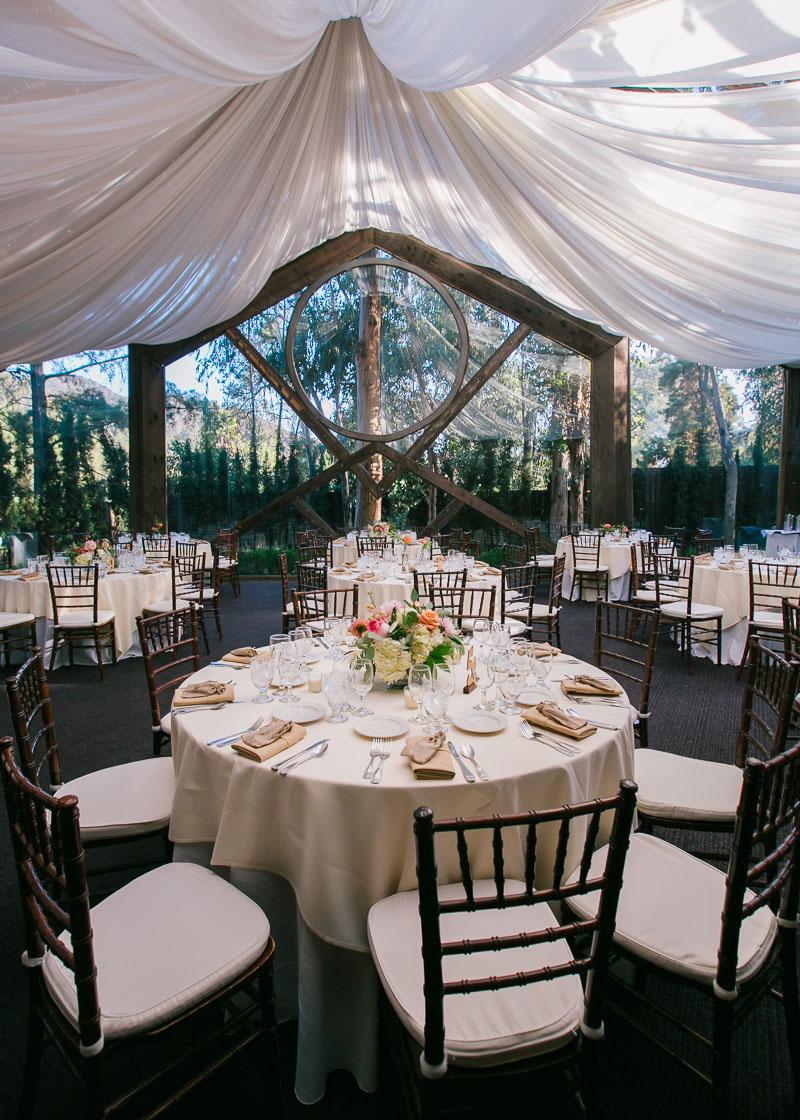 Calamigos Oak Room wedding