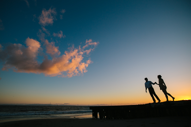 SANTA BARBARA BEACH ENGAGEMENT
