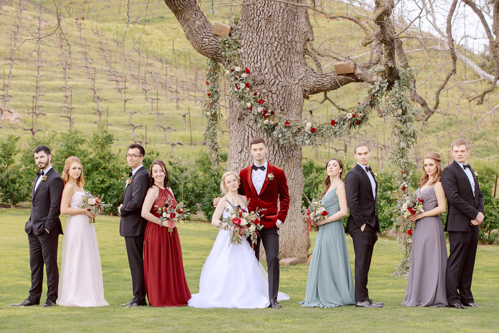 Truinfo Creek Vineyards wedding